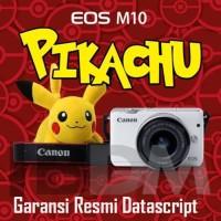 Kamera Canon eos M10 kit 14-45 is STM garansi resmi (paketan lengkap)
