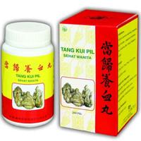 Chinese medicine /tang kui pill/kurang darah/sehat wanita/lemah/letih