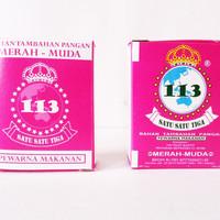 Pewarna Bubuk Merah Muda 10gr Djelita 113 (Pink)