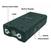 Alat kejut listrik ( StunGun + Senter LED