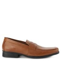 Sepatu Pantofel Yongki Komaladi Georgy Leather Original - Camel