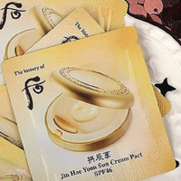 History of whoo Jin hae yoon sun cream pact spf46 BB cream SAMPLE