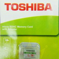 Memori Card 2 Gb Toshiba Micro memori Hp 2GB micro Sd Card Original
