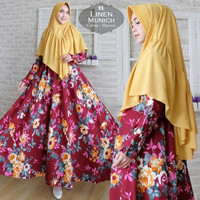 xxl xl 2xl jumbo big size baju pesta wanita muslimah gamis dress mewah