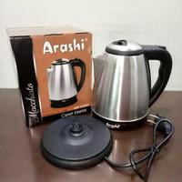 Teko listrik/ketel elektrik/Ceret elektrik 1,5 liter Arashi