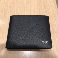 dompet braun buffel original black trifold