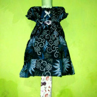 dress batik anak 1-3th