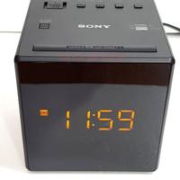 Radio FM/AM Clock Digital Sony ICF-C1