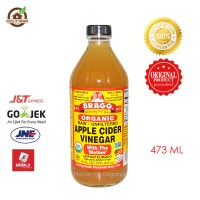BRAGG Apple Cider Vinegar ( Cuka Apel)