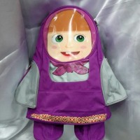 Tas ransel anak karakter Masha - Import Kidz 10414