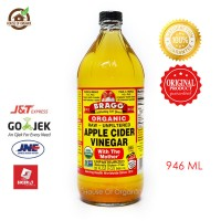 BRAGG Apple Cider Vinegar ( Cuka Apel) 946 ml