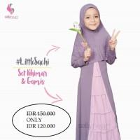 Littlesachi gamis set anak | HijabSallyHeart