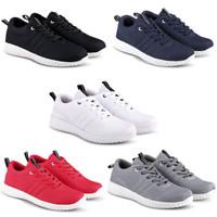 Sepatu Sneakers Kets dan Kasual Pria bisa untuk jalan santai sekolah k
