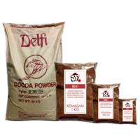 COKELAT BUBUK DELFI 100GR - DELFI PURE COCOA POWDER - COKLAT BUBUK