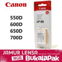 SPECIAL Baterai Canon EOS 600D 650D 700D 550D Batre Kiss X4 X5 X6 Batr
