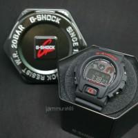 LIMITED EDITION JAM TANGAN CASIO G-SHOCK DW 6900 BLACKRED BOX KALENG