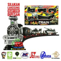 Mainan Kereta MA Train Cerobong Asap MA-Train Edukasi Anak