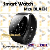 Promo Smartwatch M26 M26 Smart Watch Black Berkualitas