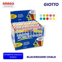 GIOTTO BLACKBOARD CHALK - 100 PCS - COLOR - (KAPUR TULIS) - 539000