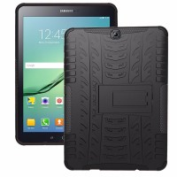 Samsung Tab S2 T815 9.7 Heavy Duty Defender Armor Kick Stand CoverCase
