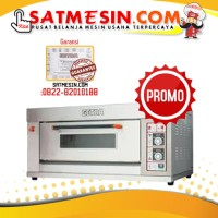 GAS BACKING OVEN GETRA RFL-12SS + SELANG