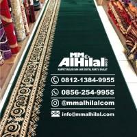 Karpet Masjid Tebal Sajadah Alas Imam 1,5M Grade A TH-GM01
