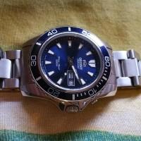 Orient Blue Mako XL Automatic Diver Watch with Bracelet #FEM75002D