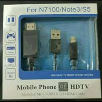 Kabel MHL TV OUT HDMI Sony Xperia L L1 M2 M4 M5 C3 C4 C5 XA XA Ultra