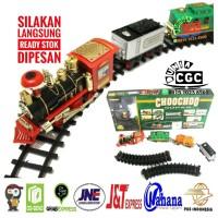 Mainan Kereta ChooChoo Cerobong Asap Edukasi Anak