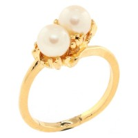Two Pearl Ring CC151HR9