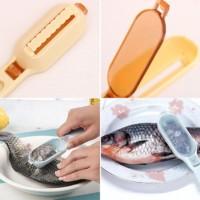 Kerokan pembersih Sisik Ikan Fish Scale Remover Manual Higienis Livid