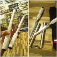 Double Stick Nunchaku + Pisau
