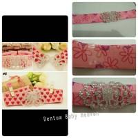 Belt Printed Diamond Chain Ikat Pinggang Anak