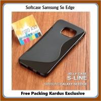 Casing HP Samsung S6 Edge Softcase Exclusive Lentur Anti Bentur