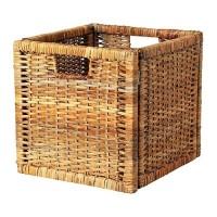 Ikea Branas ~ Keranjang Rotan | Rattan Basket | 32x34x32 cm