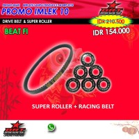 Paket Super Roller & V Belt BRT Honda Beat Fi Injection