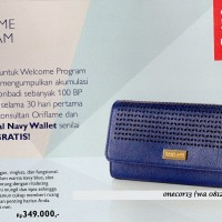 royal navy wallet oriflame II dompet oriflame II wallet