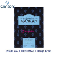 Canson Heritage Watercolor Pad 26 x 36cm - 300gsm - 12 Sheets RG