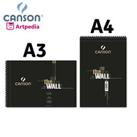 Canson The Wall A4+ 220gsm Sketchbook (isi 30) / Sketch Book