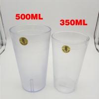 A&W Gelas Plastik Anti Pecah Gelas AW Restaurant Catering 500ML OWL