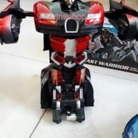 Mobil Sedan Mobil Transformer Robot Car Remote remot control