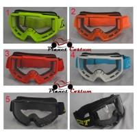 Harga goggle motocross import murah bukan kacamata renang hitam baca minus | Pembandingharga.com