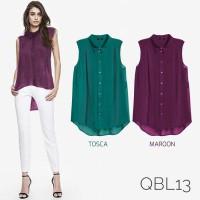 QBL13 - Women Sleveless Top - Pakaian Wanita MURAH