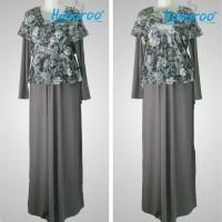 Gamis Hamil dan Menyusui Model 1407 Pakaian Muslim Hanaroo Baju Wani