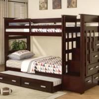 Jual Furniture Kamar Set Tempat Tidur Anak Tingkat Susun Laci Minimalis Murah