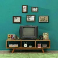meja tv, tv stand, bufet rak tv kayu jati minimalis