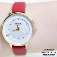 Jual Jam tangan wanita DKNY tali kulit leather premium fossil grosir aigner Murah