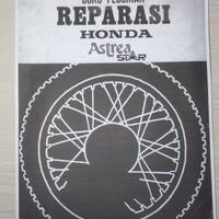 Buku Pedoman Reparasi Motor Honda Astrea Star