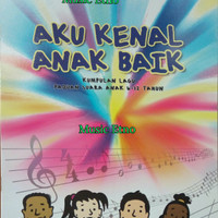 """Buku Lagu Paduan Suara Anak """"Aku Kenal Anak Baik"""" Yamuger"""