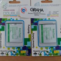 baterai lenovo a2010 / bl253 double ic brain power